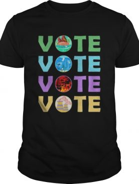 Vote For Mother Earth Global Warming shirt