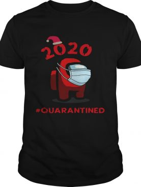 Among Us Christmas Quarantined Face Mask 2020 shirt