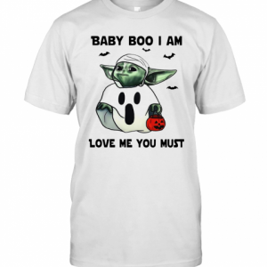 Baby Yoda Baby Boo I Am Love Me You Must T-Shirt Classic Men's T-shirt