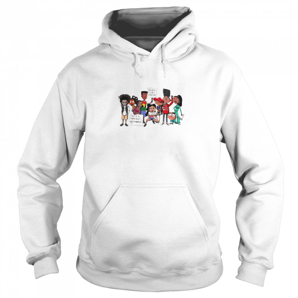 Black Lives Matter This Is A Moment Not A Moment No Justice No Peace  Unisex Hoodie