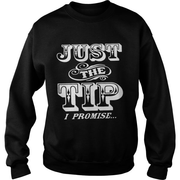 Just The Tip I Promise  Sweatshirt