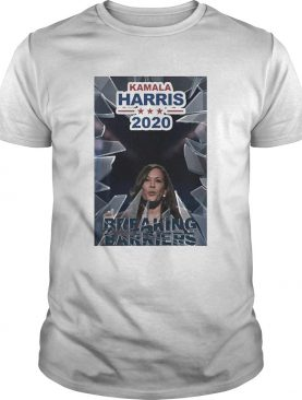 Kamala Harris Vice President 2020 Breaking Barriers For shirt