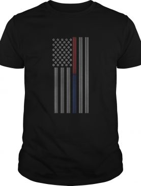 Thin Blue Line American Flag Back The Blue Patriotic Police shirt