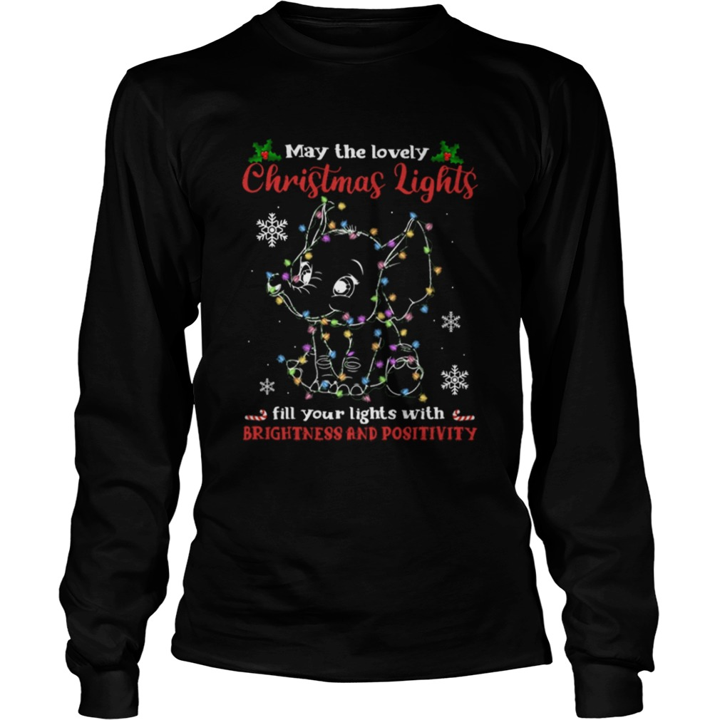 may the lovely Christmas lights fill your lights with brightness and positivity  Long Sleeve