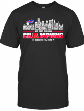 Great Afc East Division Champions New England Patriots T-Shirt