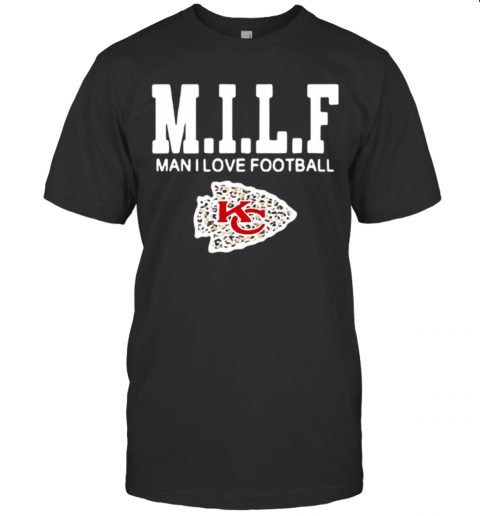 KC Milf Man I Love Football T-Shirt Classic Men's T-shirt