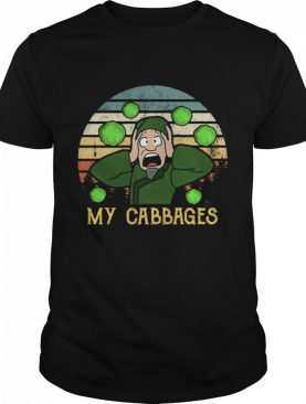 Last Airbender my cabbages vintage shirt