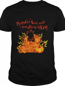 Pumpkin Spice And Everthing Nice shirt