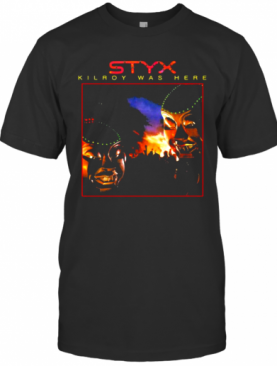 Styx Kilroy Was Here Pieces Of Eight T-Shirt