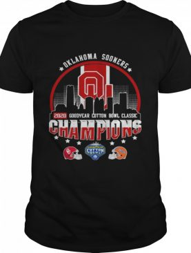 Oklahoma Sooners 2020 Goodyear Cotton Bowl Classic Champions shirt
