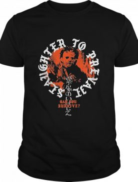 Slaughter to prevail merch Texas chainsaw massacre shirt