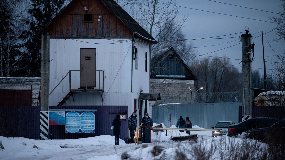 First Russia poisoned him. Now this is the prison camp for Alexey Navalny