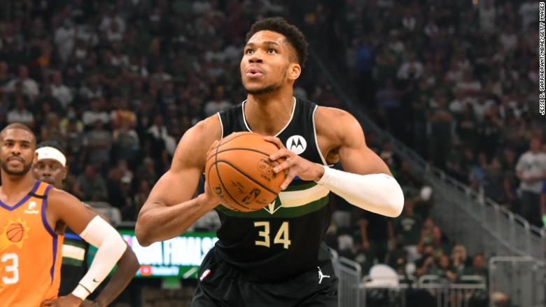 The Milwaukee Bucks are NBA champions for the first time in 50 years as Antetokounmpo scores 50 points